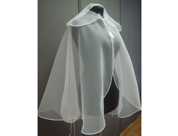 как пошить накидку на свадебное платье: